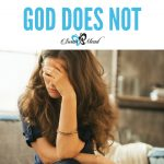 7 Lessons Learned that When I Fail, God Does Not