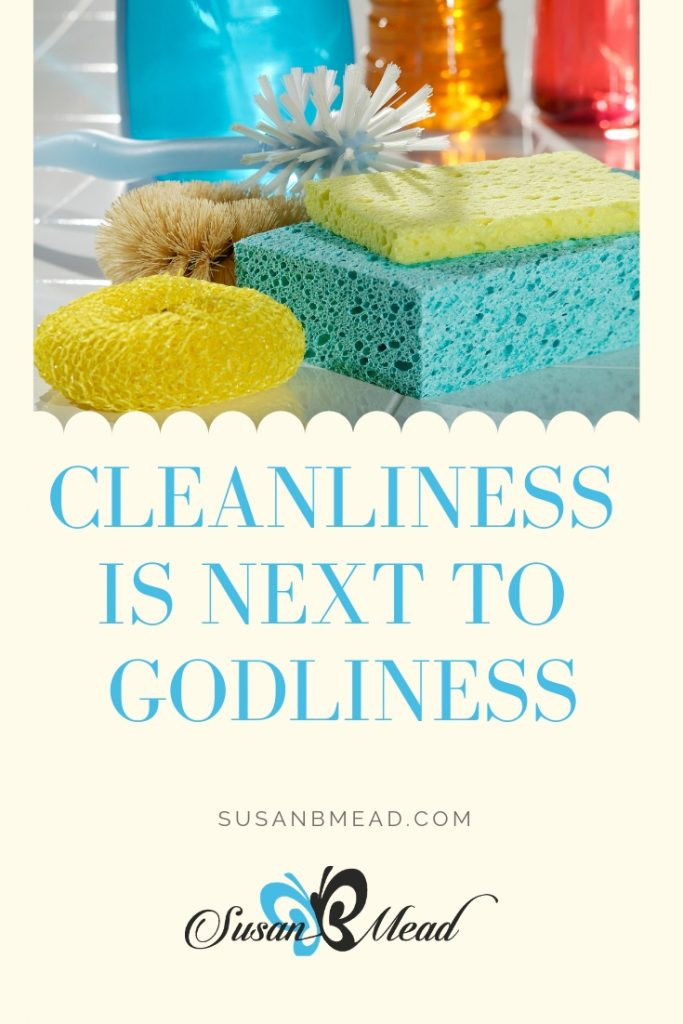 Cleanliness is next to godliness. Do you know you can lose weight faster when you home is clean?