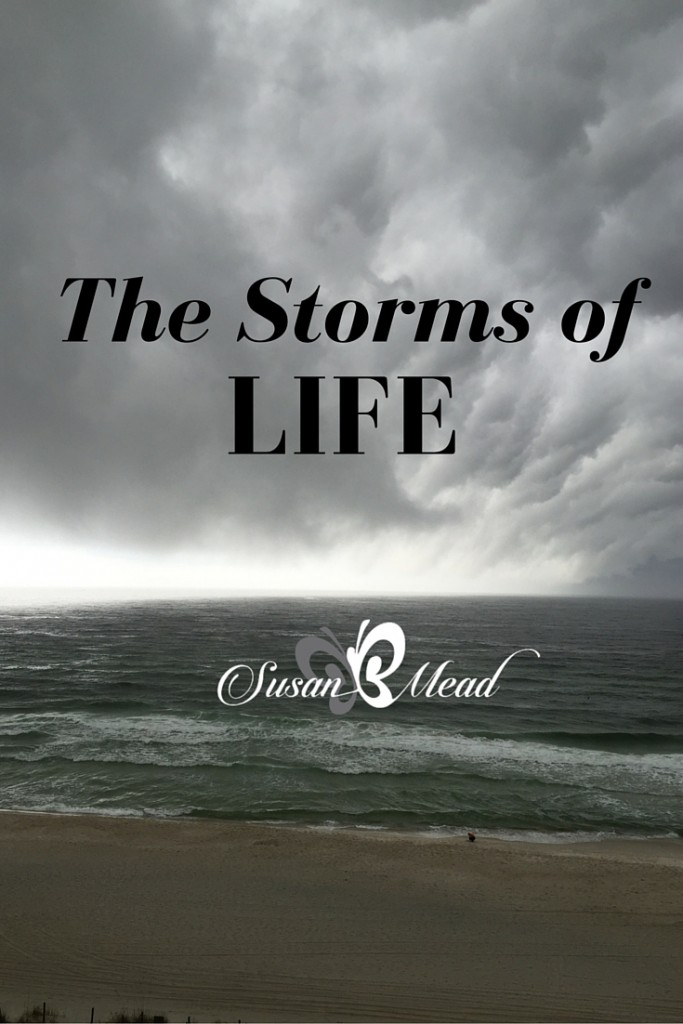 That storm brewing on the horizon may come our way. Expect it to. Prepare for it. Be securely set for it. Here's the great news we need to know – that storm hasn't met our God yet. We are Safe. Secure. Serene.