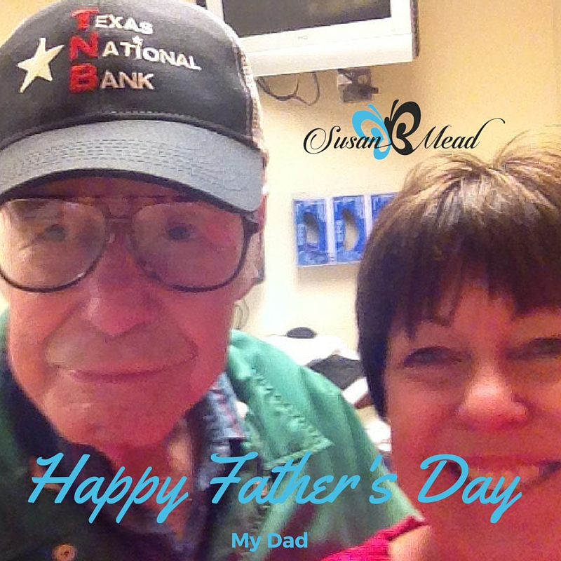 Happy Father's Day! Celebrating with my 91 year old dad. How will you celebrate your dad this year? How about your Heavenly Father?