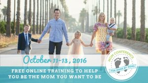 Wouldn't it be wonderful if you could attend trainings by all the best authors and speakers on motherhood topics? Well, guess what? You can. And it's free. And you don't even have to leave your house to participate. https://tt145.isrefer.com/go/momcreg/susanbmead/