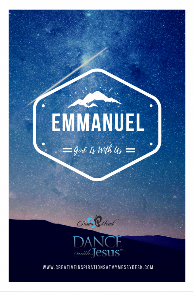 Emmanuel - God is with us. Does that comfort you? It comforts me, deeply. Come explore this magnificent name of God with us and draw near to God today.
