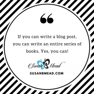 Overcoming objections that defeat your book writing hurdles. If you can write a blog post, you can write an entire series of books.