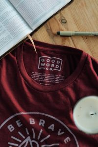 People need to be encouraged every day. The most powerful source of encouragement is the Bible. Good Word Co. shares the Good Word via T shirts. #Giveaway