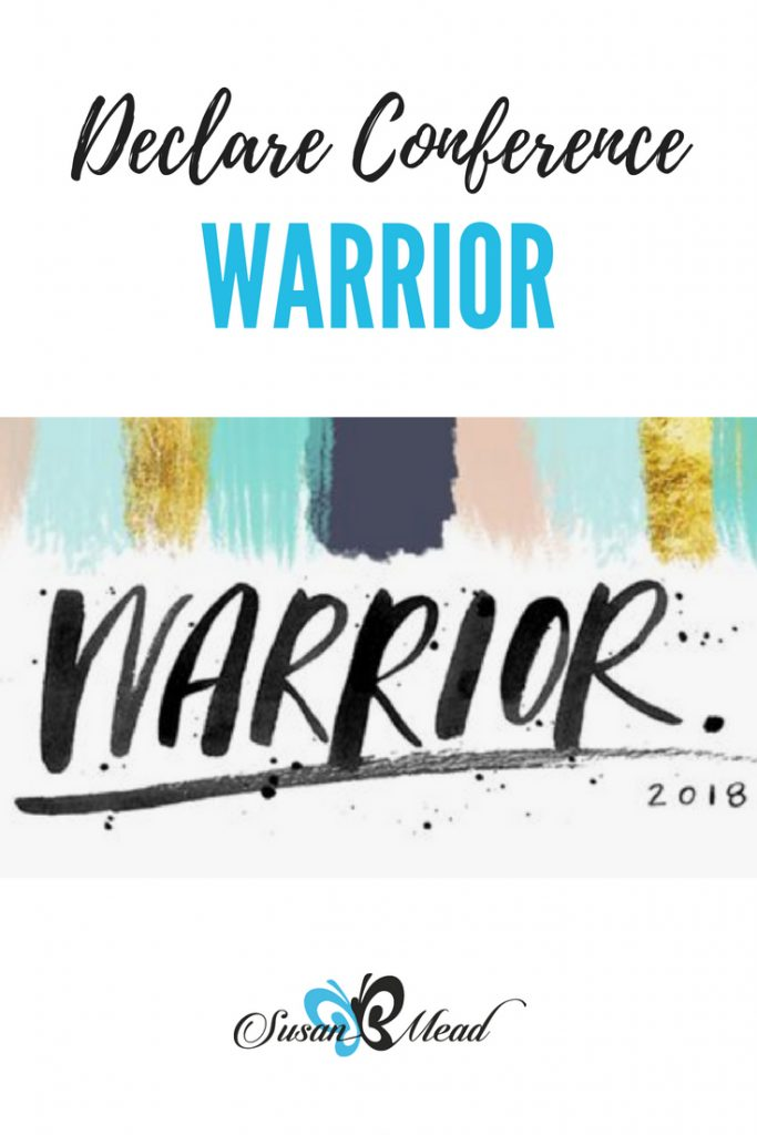 The Declare Conference 2018: Warrior. They help equip women to walk in their callings as Christian communicators to know God and to make Him known. Go!