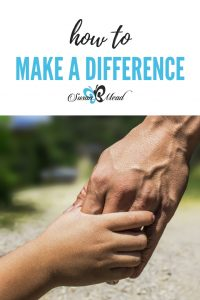 Make a difference. Yes, you can.