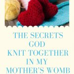 The Secrets God Knit Together in My Mother's Womb
