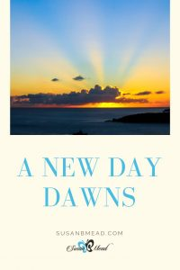 A New Day dawns as a new endeavor is birthed.