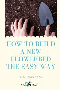 Build a new flowerbed - the easy way.