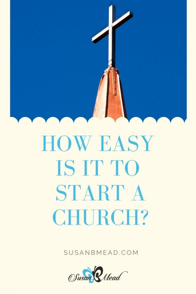 Start a Church. Good News - Jesus builds His church.