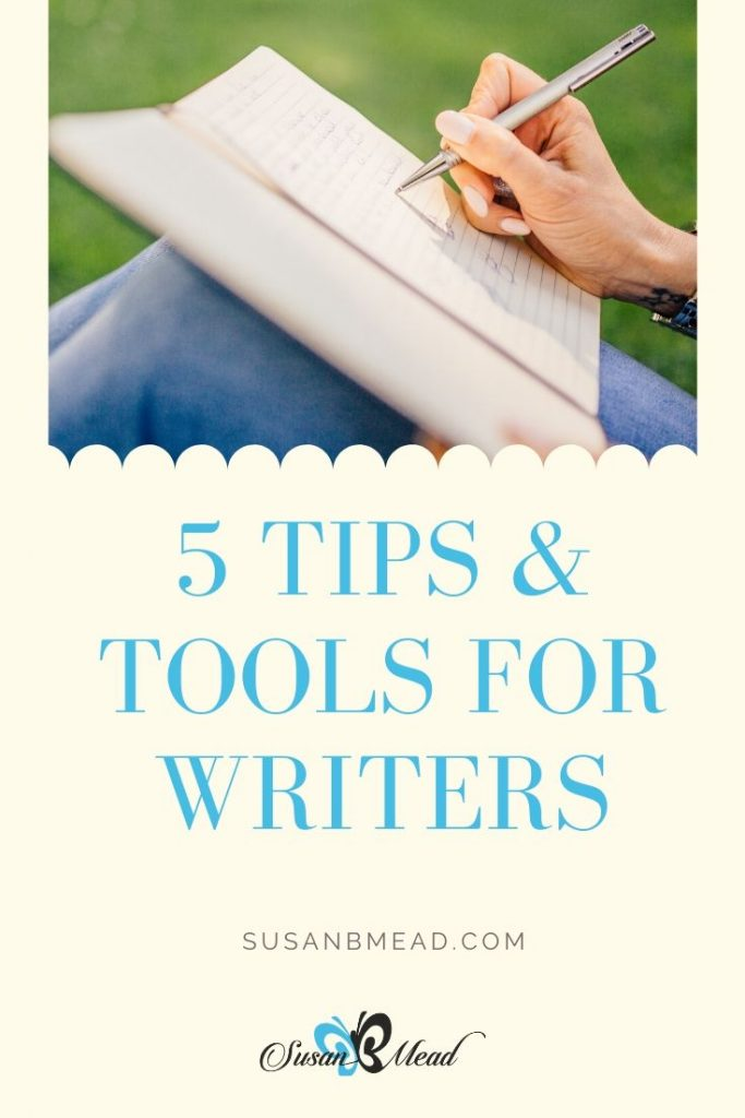 Writers tips and tools